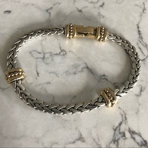 Gold & Silver Bracelet